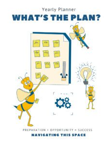 Whats the plan yearly Planner Cover