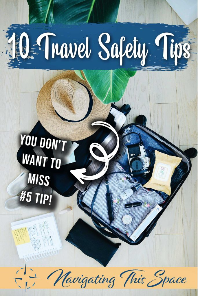 10 Travel safety tips