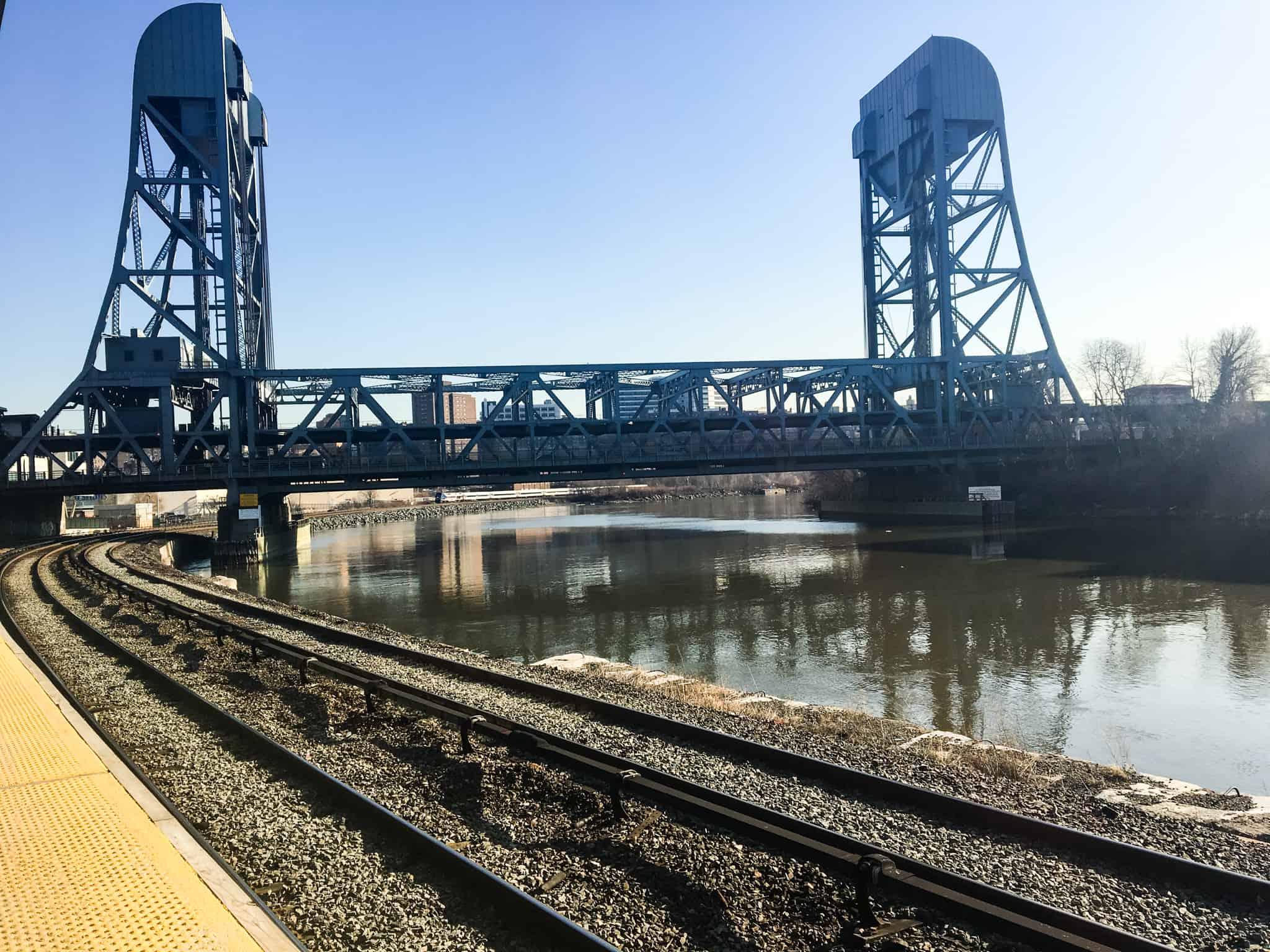 A train track in New York