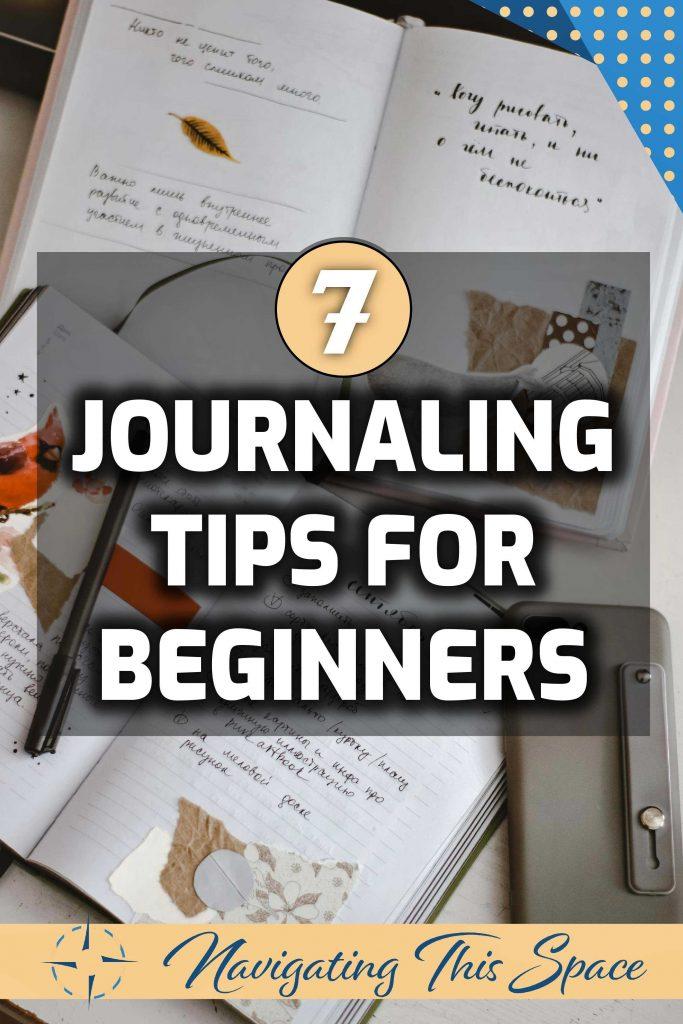 7 Journaling tips for beginners