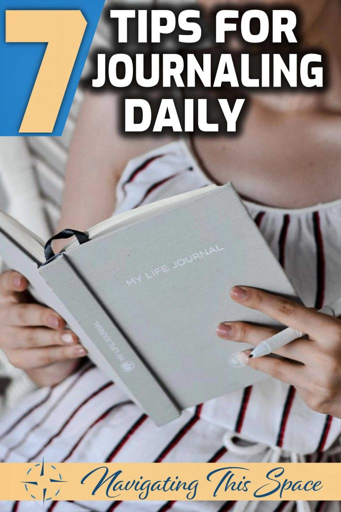 7 Tips for journaling daily